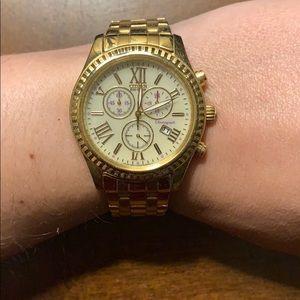 Gold Women's Citizen watch